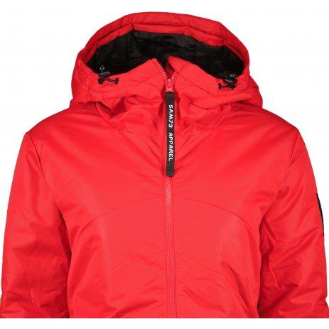 Dámský kabát SAM 73  ILARIA WB 823 ČERVENÁ