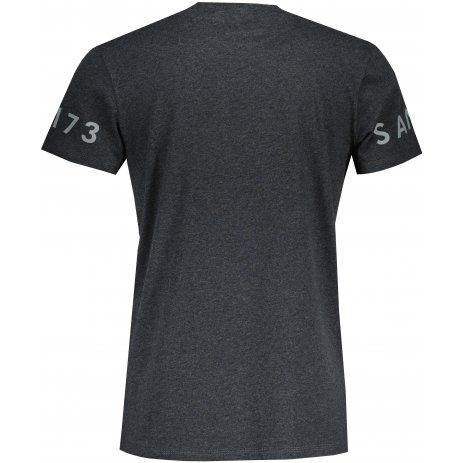 Pánské triko s krátkým rukávem SAM 73  MATTHEW MT 779 ČERNÁ