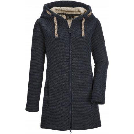 Dámský kabát KILLTEC GW 54 WMN KNTFLC PRK 37640 TMAVĚ MODRÁ