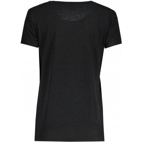 Dámské triko s krátkým rukávem SAM 73  ARIAS WT 825 ČERNÁ