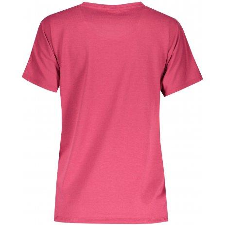 Dámské triko s krátkým rukávem SAM 73  JOHANNA WT 835 TMAVĚ RŮŽOVÁ