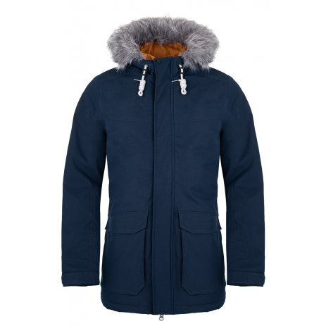 Pánský zimní kabát LOAP NARVIC MODRÁ