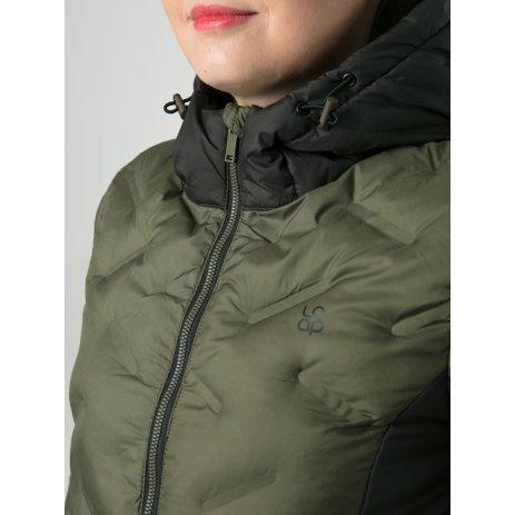 Dámský zimní kabát LOAP ITIKA ZELENÁ