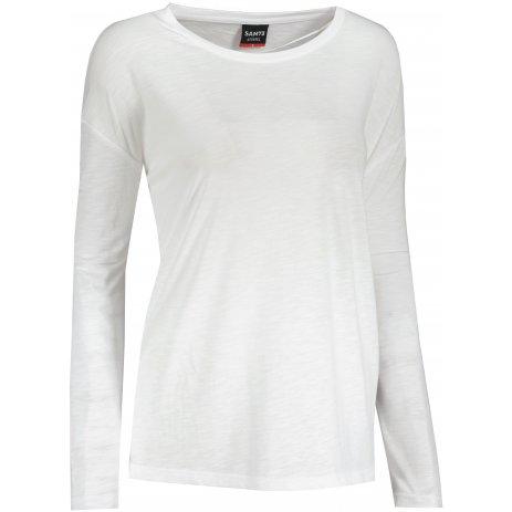 Dámské triko s dlouhým rukávem  SAM 73  VIRGINIA WT 832 BÍLÁ