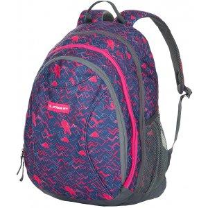 Školní batoh LOAP SHAW BD1530 TMAVĚ FIALOVÁ a32fa56b7a