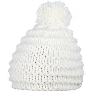 Dámská zimní čepice ALPINE PRO CAMAEL BÍLÁ