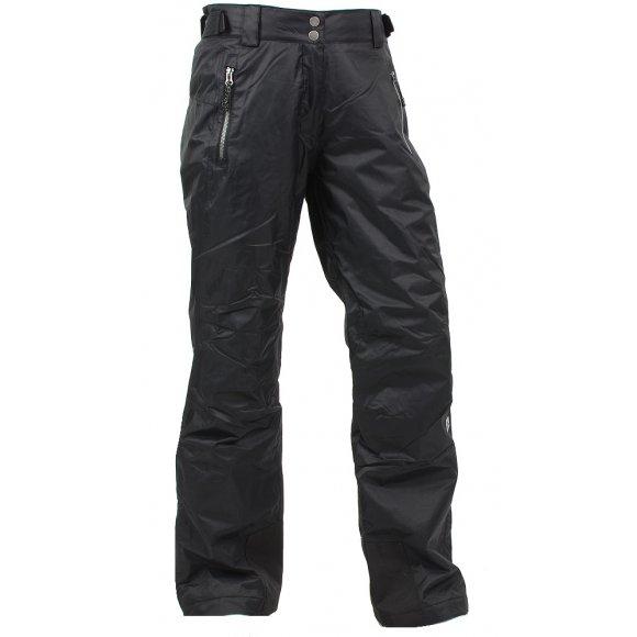Dámské zimní kalhoty ALPINE PRO FLEMERA ČERNÁ
