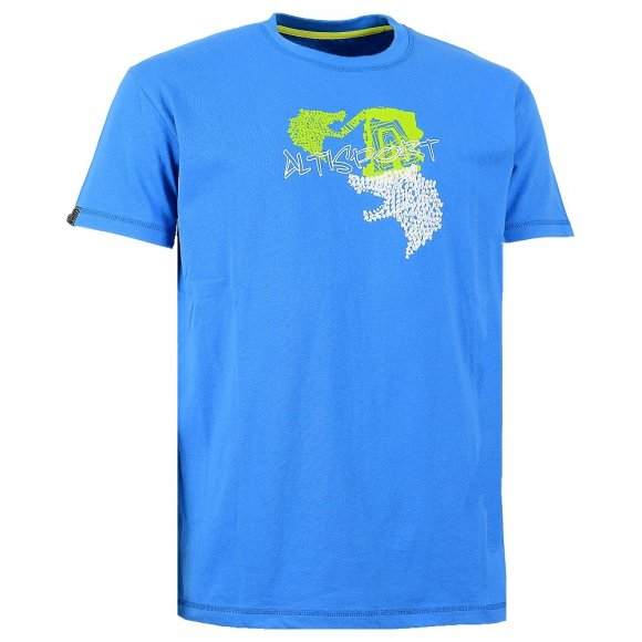 Chlapecké triko s krátkým rukávem ALTISPORT URRE-J ALJW15067 MODRÁ