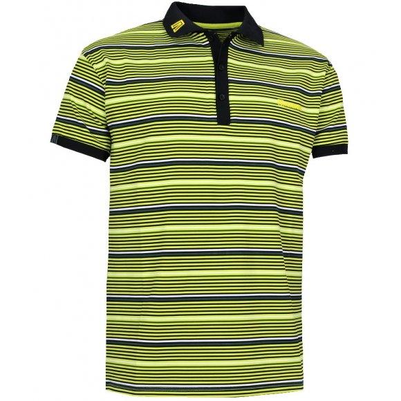 Pánské triko s límečkem ALTISPORT STORO ALMS14040 ZELENÁ