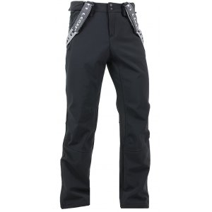 Pánské softshellové kalhoty LOAP LADRON SFM1515 ČERNÁ