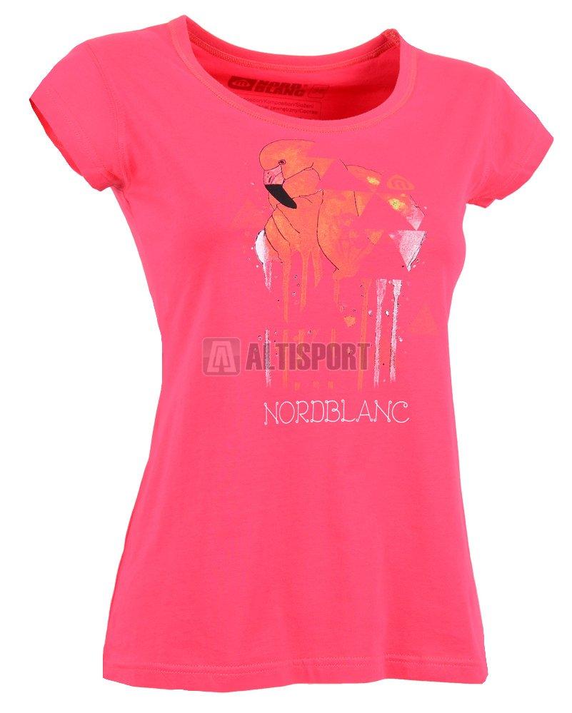 Dámské tričko NORDBLANC FLAMINGO NBSLT5108 SVĚTLÁ RŮŽOVÁ velikost ... 7d07436399
