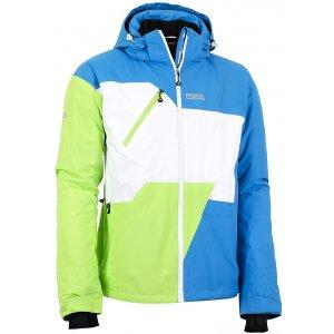 Pánská zimní lyžařská bunda NORDBLANC RADIANT NBWJM5306 AZUROVÁ MODRÁ