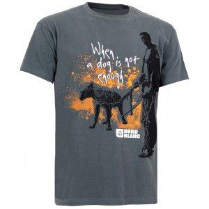 Pánské tričko NORDBLANC HYENA NBSMT5094 SVĚTLE ČERNÁ