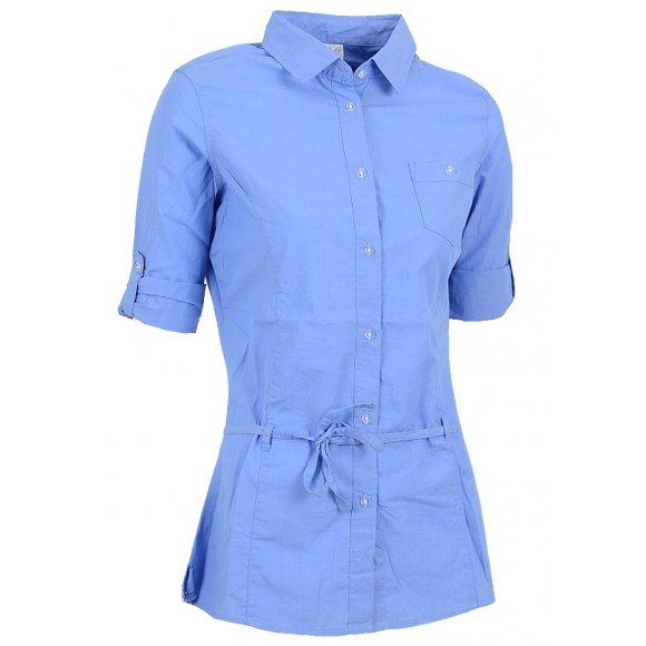 Dámská košile 3/4 rukáv NELL W14052 MODRÁ