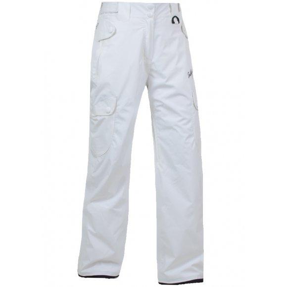 Snowboard kalhoty dámské NORTHFINDER NO-40111SIII BÍLÁ